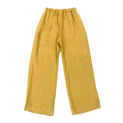 6397 Linen Easy Pants- Front