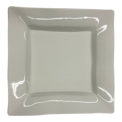 Spin Ceramics Large Square Serving Plate- Front
