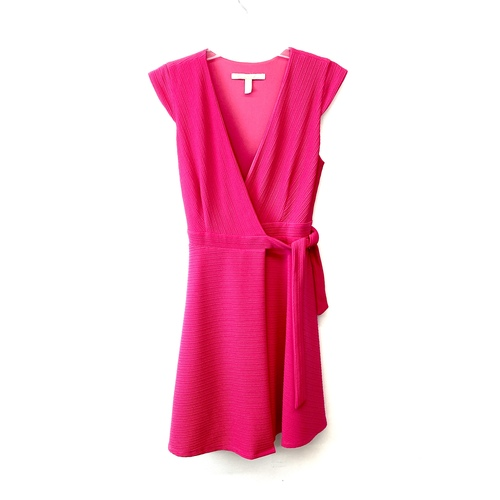 Hutch Ripple Wrap Dress- Front