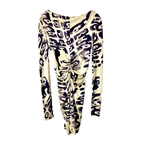 Emilio Pucci Laced Back Printed Dress- Front