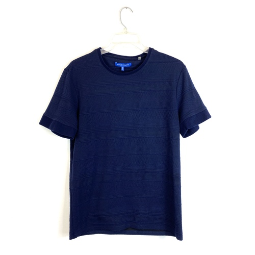 Vince Camuto Textured T-Shirt- Front