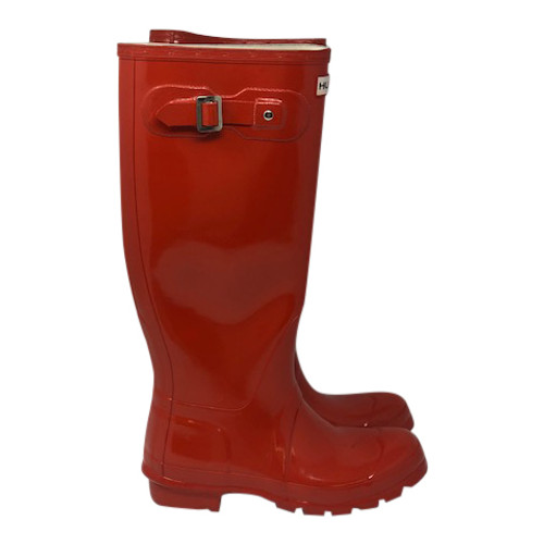 Hunter Knee High Rain Boots-Right