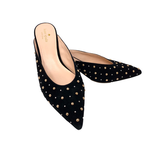 Kate Spade Studded Mules- Front