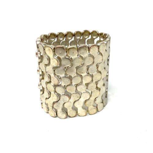 Modernist Puzzle Bracelet- Front
