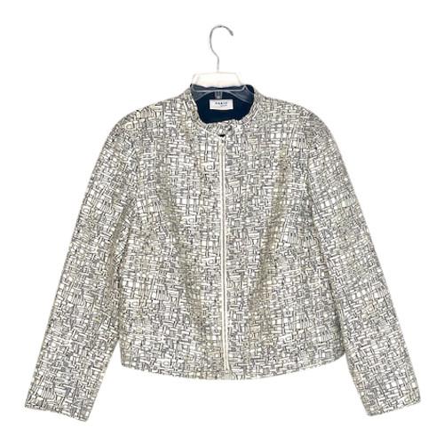 Akris Punto Jacqard Stand Collar Jacket-Front