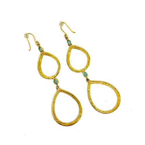 Santorini Teardrop Earrings- Thumbnail