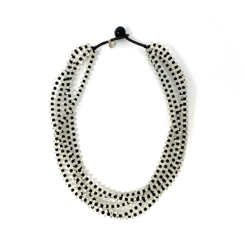 Multistrand Vertebrae Necklace- Front