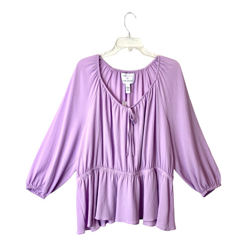 Beauticurve by Lane Bryant Crepe Blouse- Front