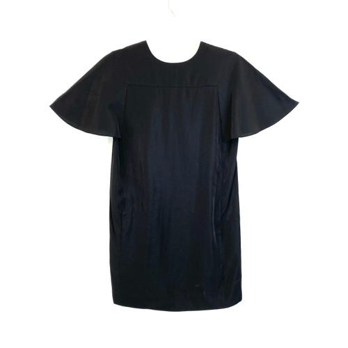 COS Black Boxy Dress- Front