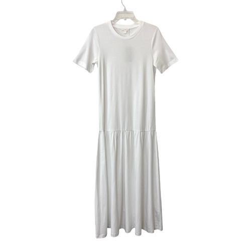 COS Frilled Hem Long Dress- Front