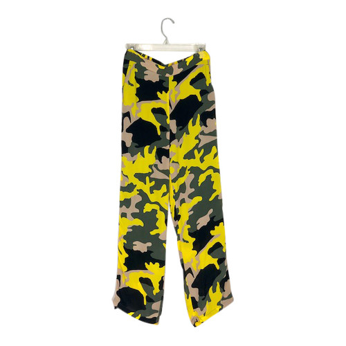 Won Hundred Silk Camo Track Pants-Front
