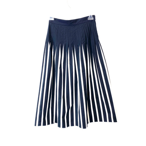 COS Striped Pleated Skirt- Front
