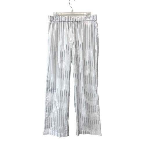 COS White and Black Pinstripe Pants- Front
