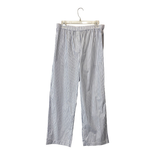 COS Navy and White Pinstripe Pants- Front