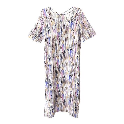 COS Long Printed Silk Dress- Front