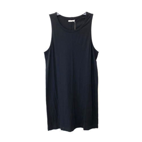 6397 Black Tank Dress- Front