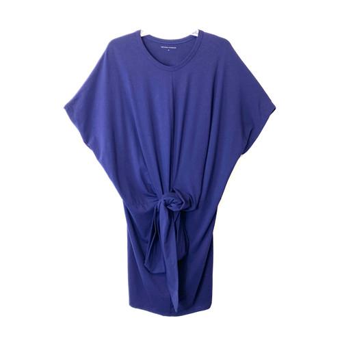 Universal Standard Tie Waist Jersey Dress- Front