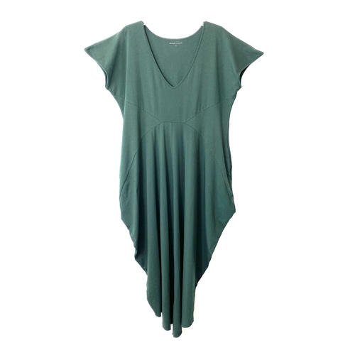 Universal Standard Seamed Draped Dress- Front