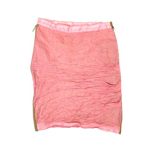 Yigal Azrouel Crinkle Mini Skirt- Front
