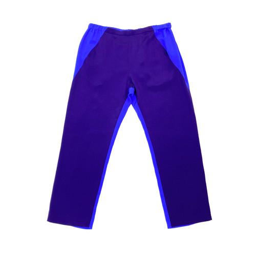 Zero + Maria Cornejo Two Tone Straight Pants- Front