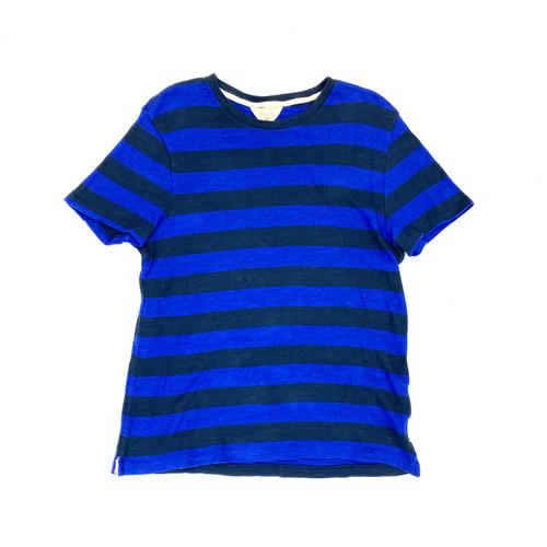 Rag & Bone Two Tone Stripe T-Shirt- Front