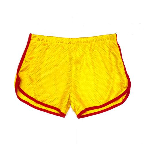 Retro Mesh Track Shorts- Front