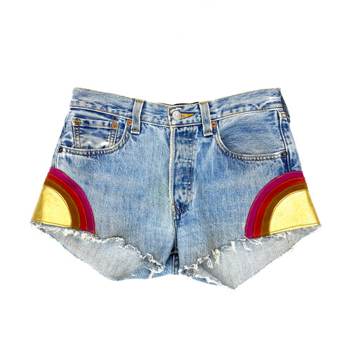 After Party by Nasty Gal Sunset Shorts- Front