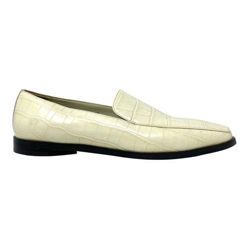 Everlane Embossed Croc Loafers- Right