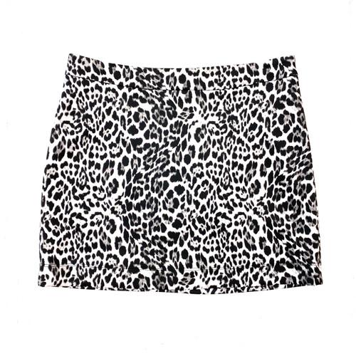 Herja Snow Leopard Mini Skirt- Front