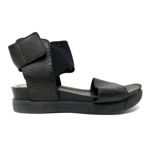 Eileen Fisher Ankle Wrap Flatform Sandals- Right