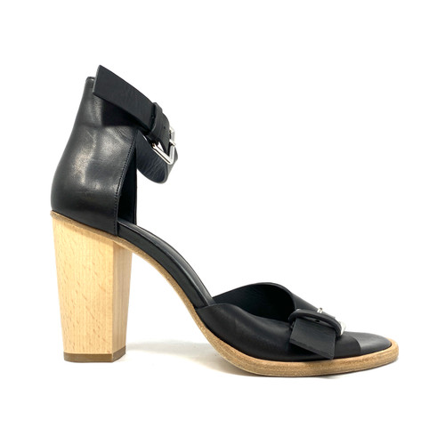 COS Contrast Heel Buckled Sandal- Right