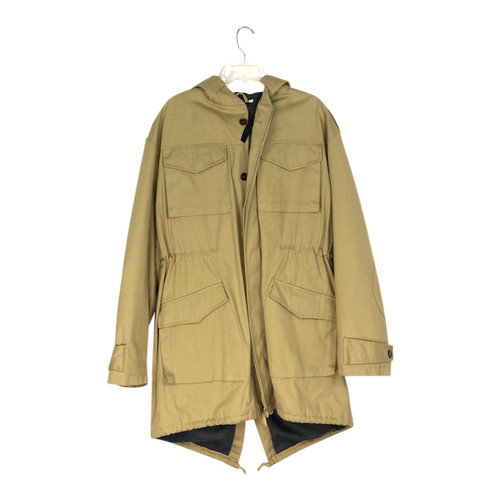 Vespa Cotton Canvas Padded Anorak-Front