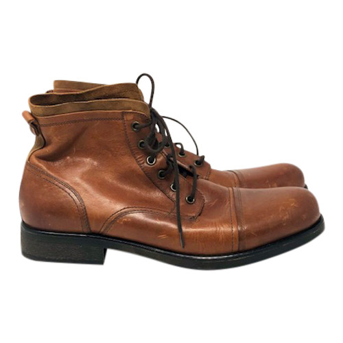 Aldo Leather Work Boot-Right