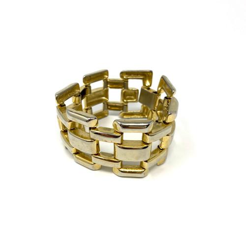 Wide Box Chain Bracelet- Thumbnail