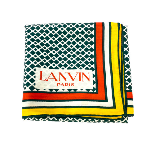 Lanvin Geometric Print Scarf- Thumbnail