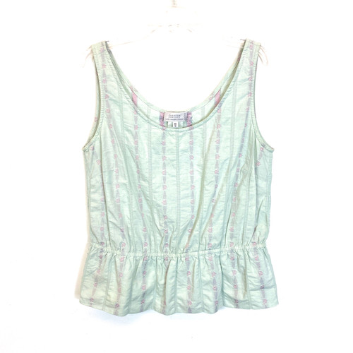 Barneys New York Embroidered Camisole- Front