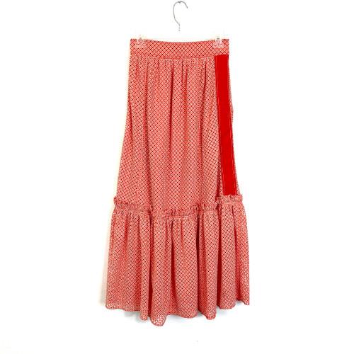 Derek Lam 10 Crosby Eyelet Midi Skirt- Front