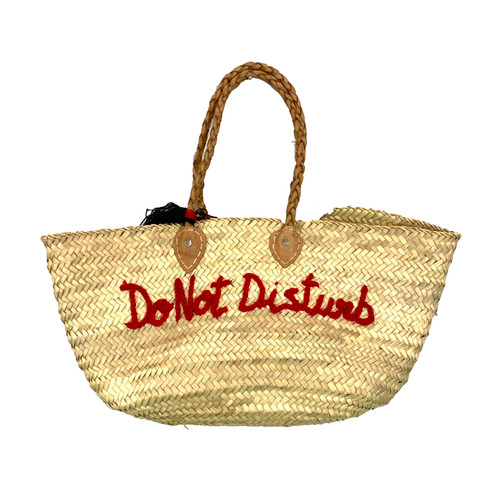 Shop Latitude Do Not Disturb Woven Tote- Front