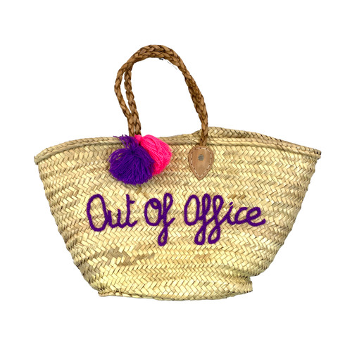 Shop Latitude Out of Office Woven Tote- Thumbnail