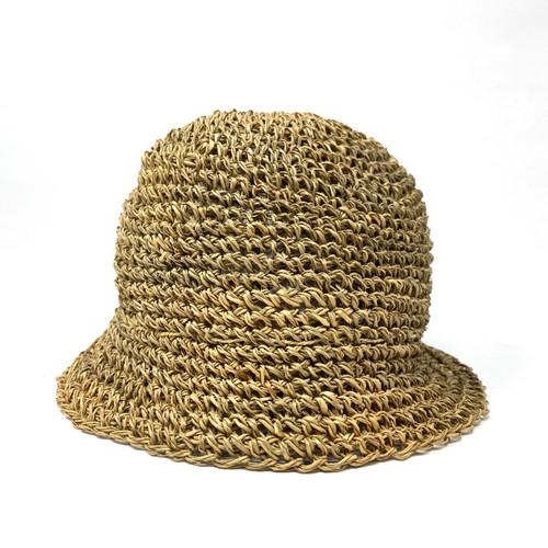 Rod Keenan Crochet Bell Hat- Front