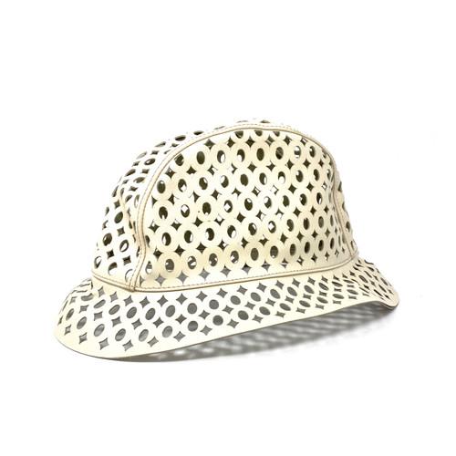 Prada Laser Cut Bucket Hat- Thumbnail