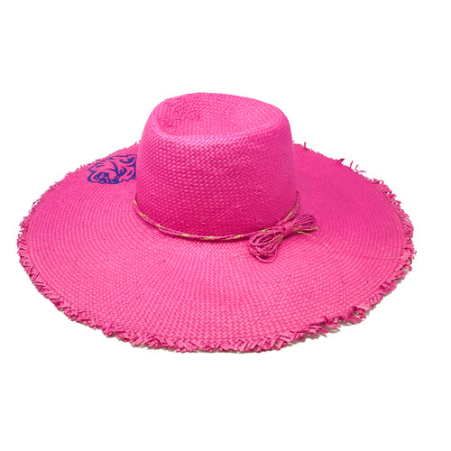 Hat Attack Natural Beach Hat- Front