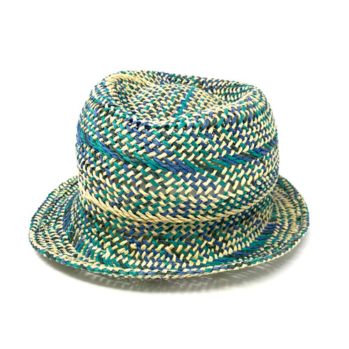 Hat Attack Keep Cool Tricolor Fedora- Front