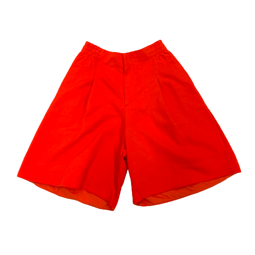 Y-3 Red Classic Terry Shorts - Thumbnail