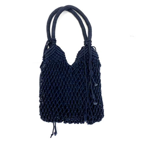 Area Stars Macrame Hobo Bag- Front
