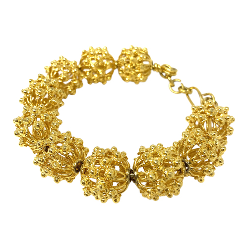 Filigree Spheres Bracelet- Front