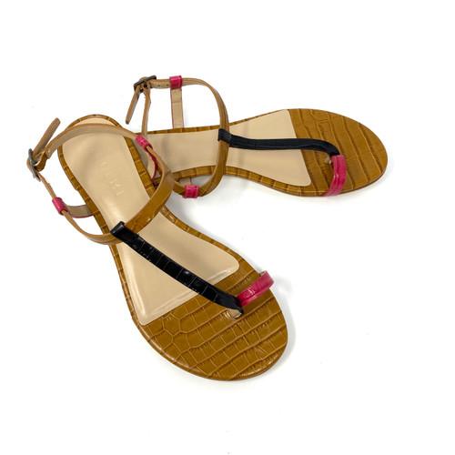 M. Gemi Skinny Strap Sandals- Thumbnail
