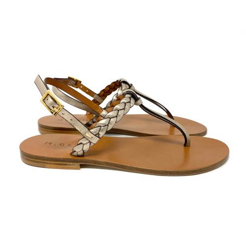 M. Gemi La Treccia Sandals- Right