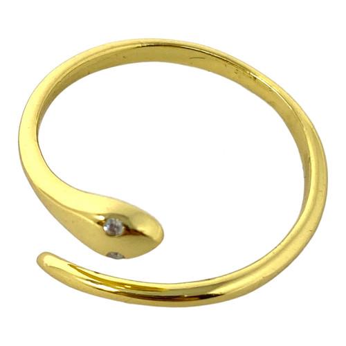 Shashi Sleek Snake Ring- Thumbnail