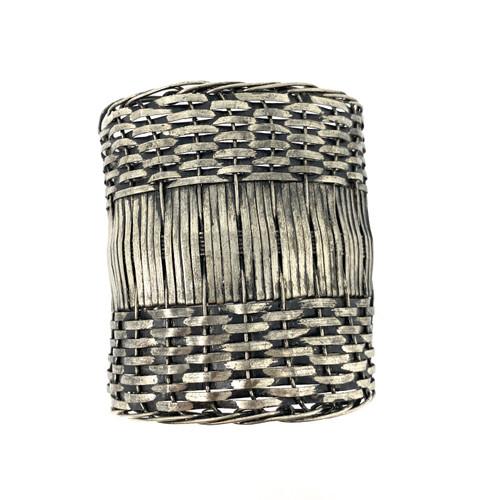 Basket Weave Arm Cuff- Front